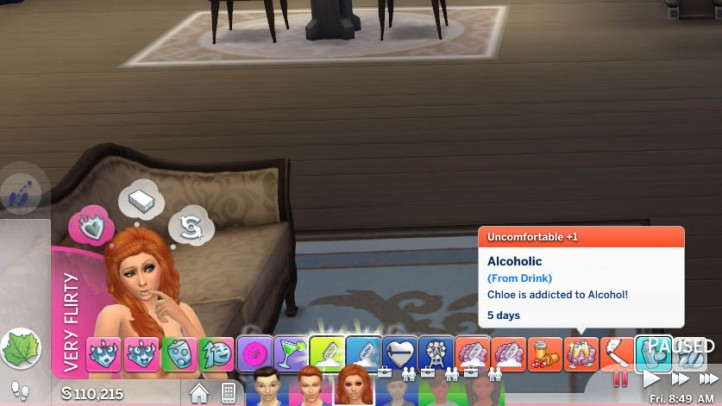 I made my sim addicted to everything and here's what